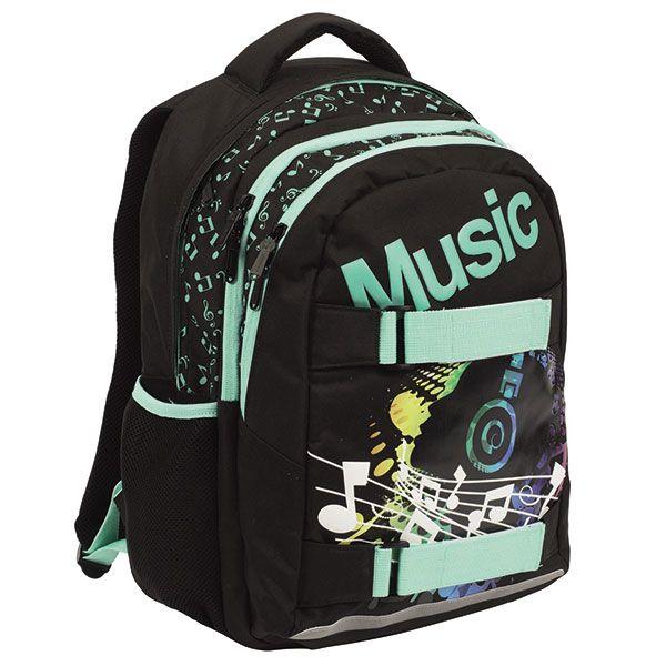 Hátizsákok felsősöknek - OXY ONE Music diák hátizsák - IMO-KPP-3-260-R3 - iskolatáska, hátizsák, tolltartó, herlitz, gabol, unipap