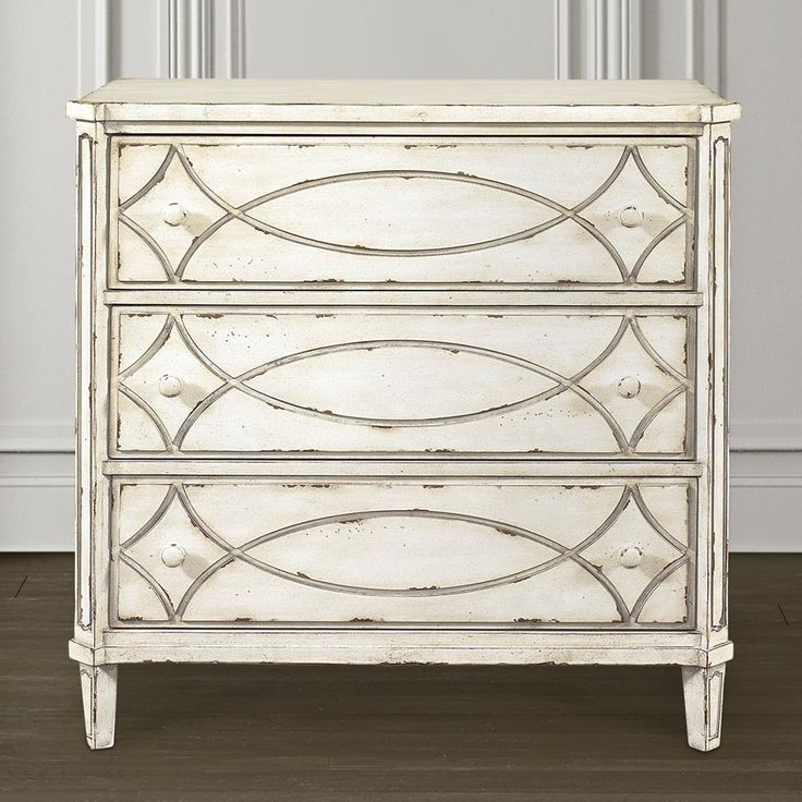French Hall Chest By Bassett Furniture