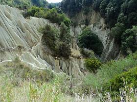 I Pizzi Bianchi  I Pizzi bianchi, meta ambita da escursionisti esperti, sono il risultato di un bizzarro gioco della natura, dove il costante lavoro dell'acqua e del vento ne ha scavato e modellato il territorio.