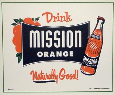 Mission Orange Soda