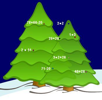 Calcoli matematici... sull'albero di Natale!