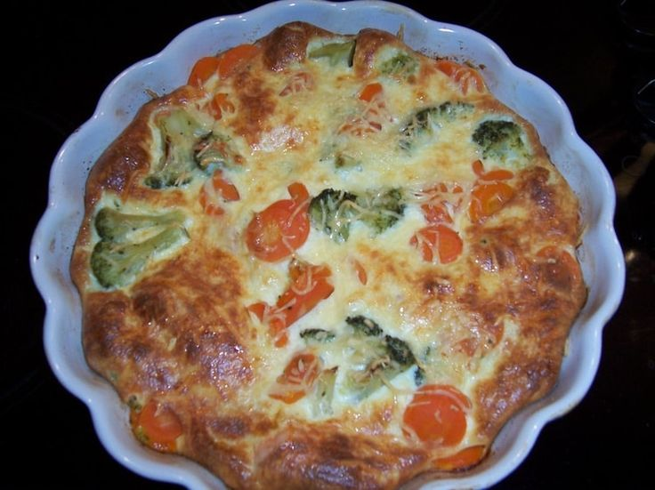 Flan de carottes et brocolis