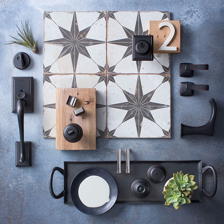 New Decor Trends in Hardware: Bronze with Brushed Nickel | www.homeology.co.za