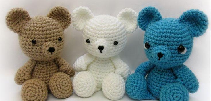 Amigurumi Little Bigfoot Panda : Bear-Crochet-Pattern-Free crochet Pinterest How to ...