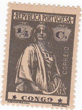 Portugal Colony Congo 1/4 Cent Postage Stamp by onetime on Etsy, $0.75