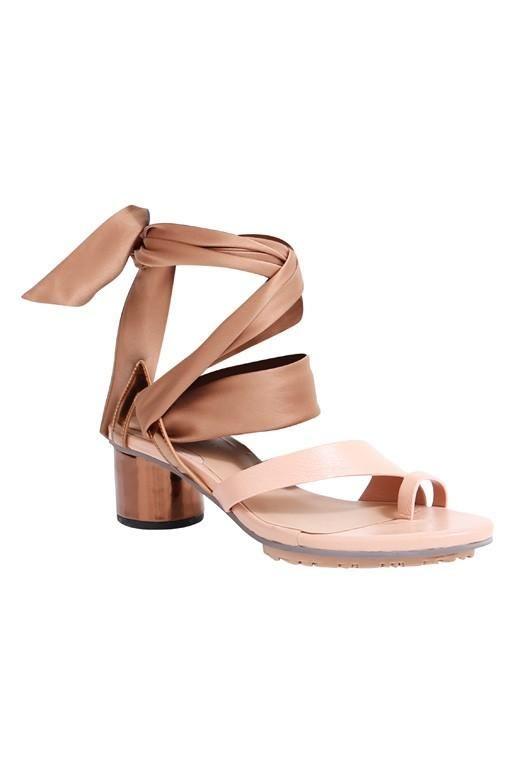 Ginger & Smart - Maya Ankle Wrap Mid Heel