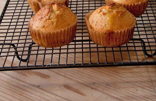 Lemon curd muffins,yummy :)