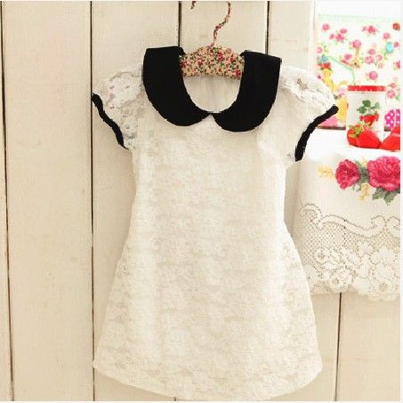 photos of 2014 vintage little girl fashions   clothing female Girls lace princess one-piece dress toddler girl ...