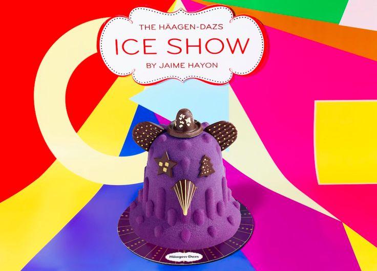 """Bûches glacées """"Ice Show"""" Häagen-Dazs X Jaime Hayon. Tous en piste ! 😍 🍫 🎄 🎅 🎪  #Noël #Chocolat #Spectacle #Paris #Design #Mode #HaagenDazs #IceCream #Delicious"""