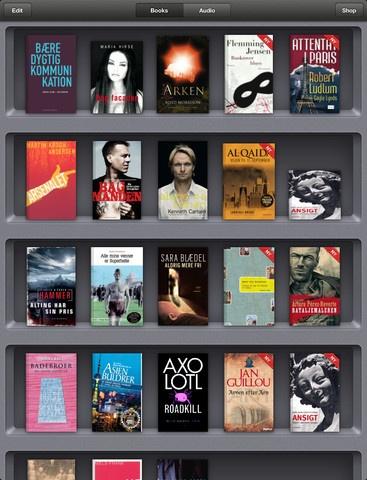 Find masser af forskellig litteratur i Bøger, der kan hentes i App Store.