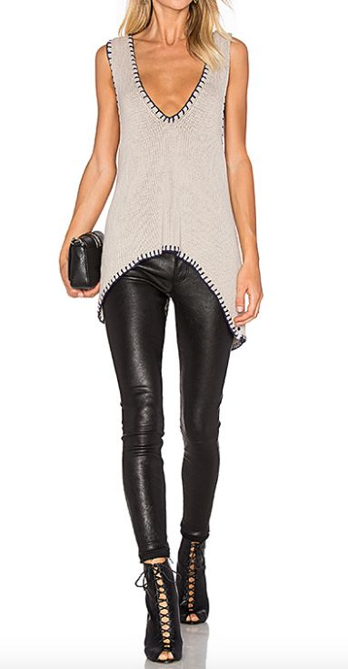 Moonstone Cross Back Knit Top By One Teaspoon | Envy by Melissa Gorga