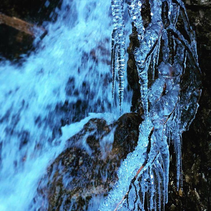 Ferienregion Wipptal in Tirol — Movement vs Temperature-  Sarnthein Wasserfall ...