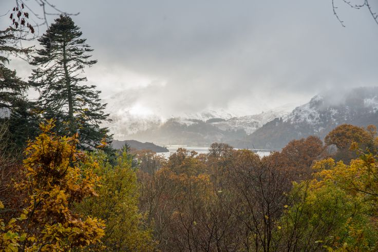 A trip to Aira Force with a sprinkling of snow