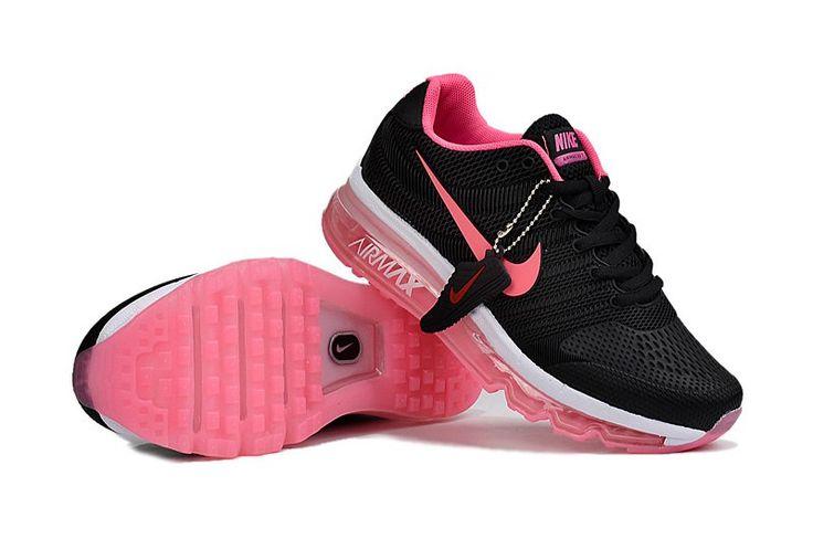 Nike Air Max 2017 Women Black Pink KPU Shoes