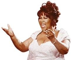 Aretha Franklin, Queen of Soul.  We totally agree.