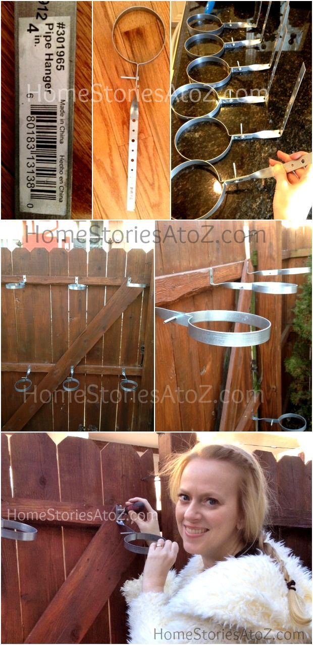 Urban Garden: Do It Yourself Fence Planter