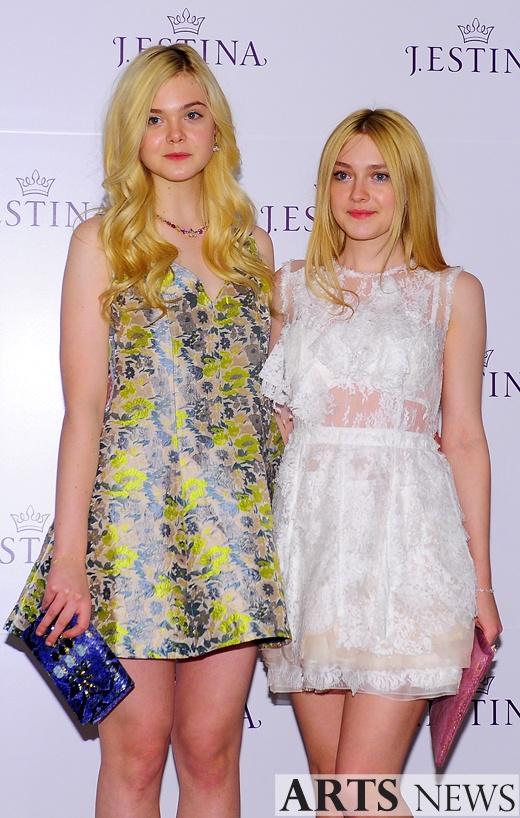 Dakota Fanning Sister 2013