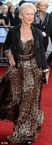 dressing for over age 60 women pictures | ... effect: Women over 50 who don't want to dress their age | Mail Online
