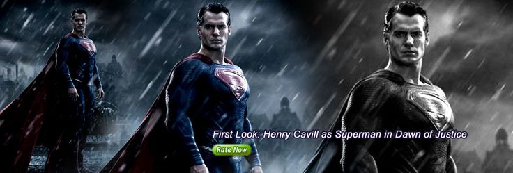 First Look: Henry Cavill as Superman in Dawn of Justice