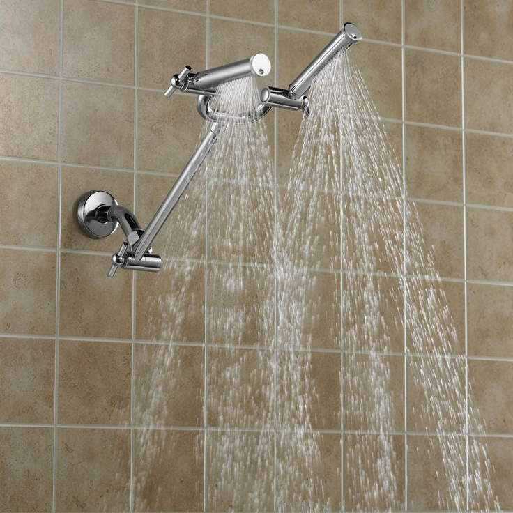 I keep telling Justin that my dream is a dual shower. I'm so obsessed!