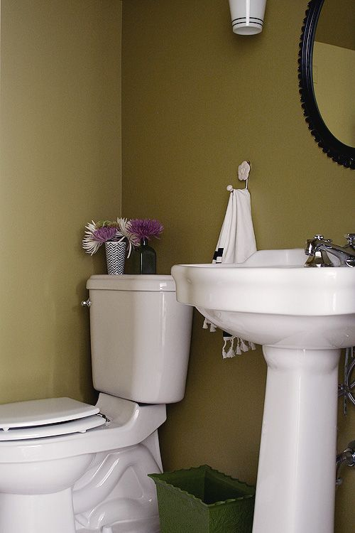the 25 best olive green bathrooms ideas on pinterest cottage style green bathrooms room. Black Bedroom Furniture Sets. Home Design Ideas