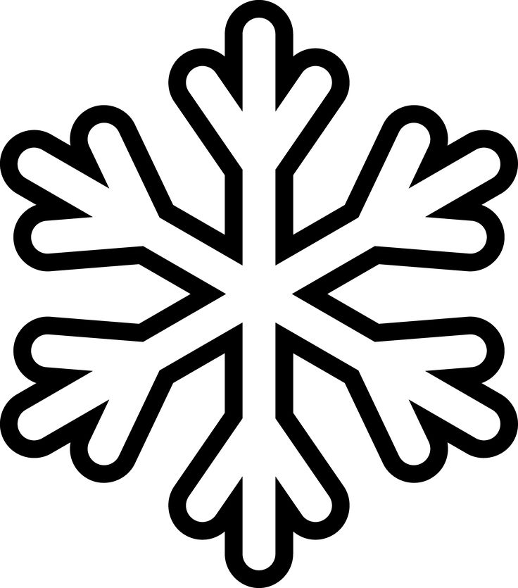 21 best snow flakes images on pinterest | snowflake template, snow ... - Christmas Snowflake Coloring Pages