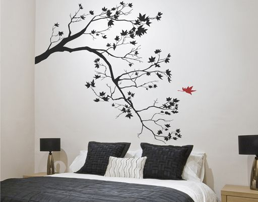 Ideas para pintar árboles en las paredes, vinilos de árboles, papel pintado de árboles y muchas otras cosas más para decorar tu casa o una habitación infantil