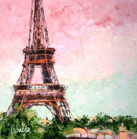 History of art: The Eiffel Tower