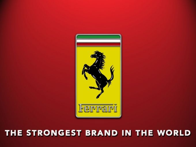 Rossato is Proud to serve Ferrari since 2006.  Ferrari has been awarded as the Strongest Brand in the World: Brand Finance awards Ferrari second successive year  http://www.ferrari.com/Pages/Gateway.aspx?CountryId=88&CountryTitle=United+States