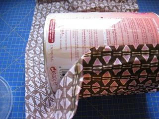 Tutorial: Como forrar una lata con tela
