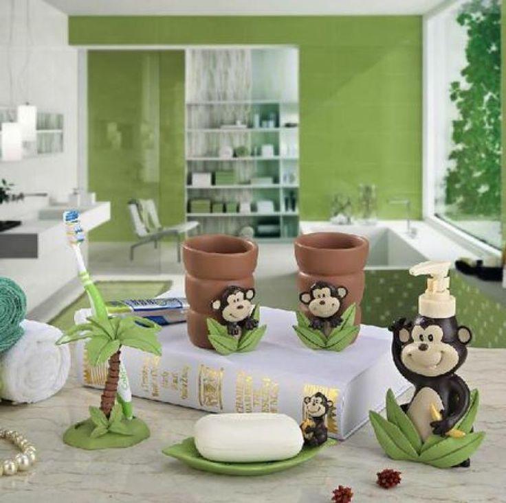 Funny Monkey Bathroom Decor Ideas Inspirations 7