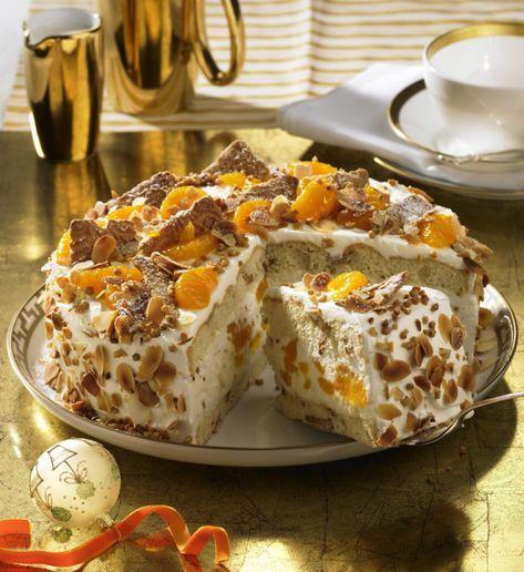 Unser beliebtes Rezept für Weihnachts-Mandarinen-Torte und mehr als 55.000 weitere kostenlose Rezepte auf LECKER.de.