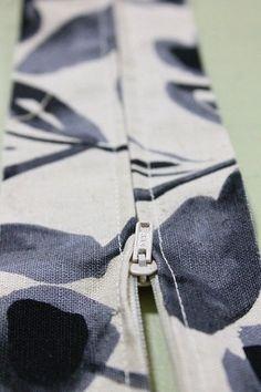簡単ファスナーを隠す縫い方 | 初心者さんの洋裁教室 Himawari