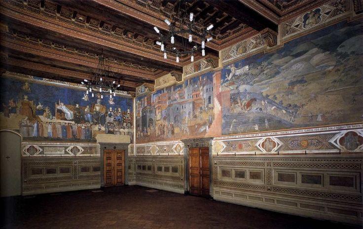 Sala della Pace in the Plazzo Pubblico, Siena