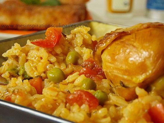 Riz au poulet / cuisine algerienne
