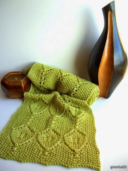 Lace Knitting Pattern #3 Lace Knitting Stitches Beautiful Scarf/Shawl kni...
