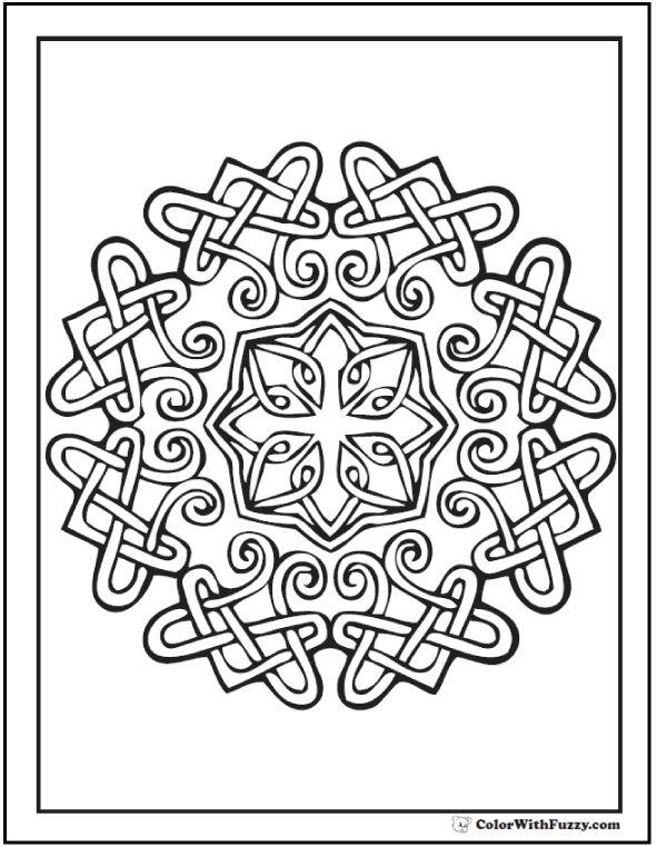 390 best Celtic Designs images on Pinterest Celtic art, Celtic - best of printable coloring pages celtic designs