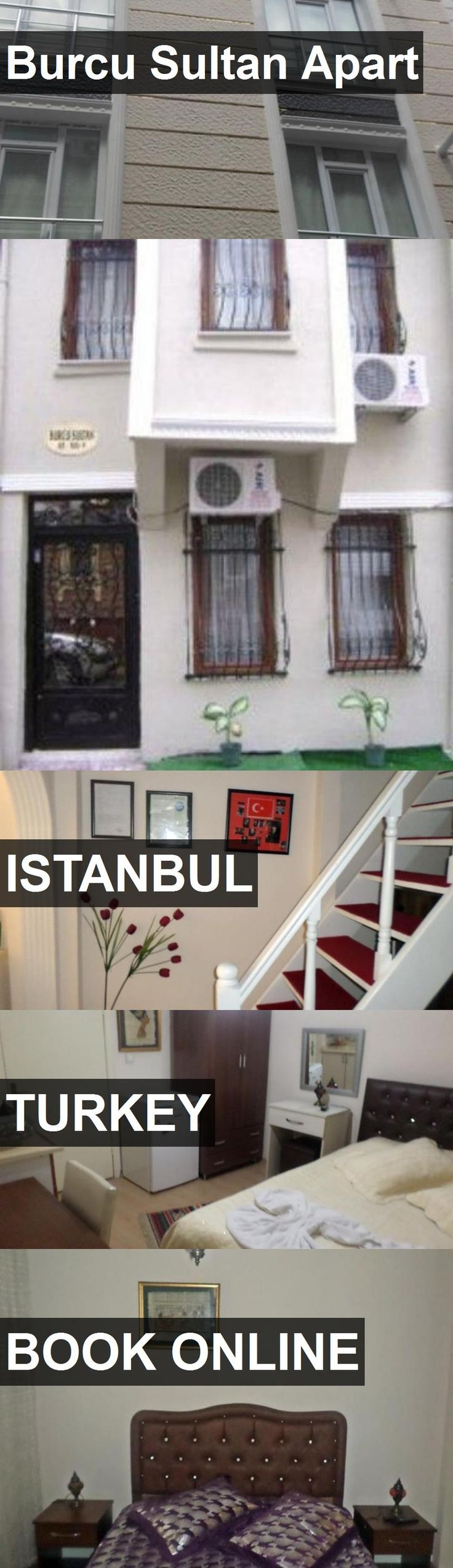 Hotel Burcu Sultan Apart in Istanbul, Turkey. For more information, photos, reviews and best prices please follow the link. #Turkey #Istanbul #hotel #travel #vacation