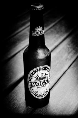Phoenix beer - a local Mauritian beer