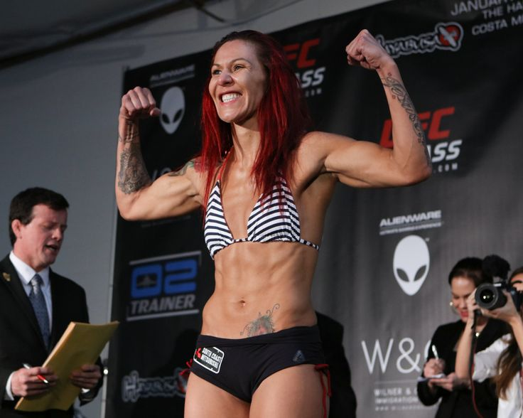 """UFC Fight Night 95: 'Cyborg' vs Lansberg weigh-in results = The most terrifying female fighter on the planet, Cristiane """"Cyborg"""" Justino, returns to the Octagon on Saturday night at UFC Fight Night 95 to take on Swedish striker Lina Lansberg.  No one has stood with """"Cyborg"""" in....."""