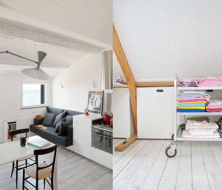 Een kleine zolder inrichten kan een uitdaging zijn. Met deze 8 handige tips kunt een kleine zolder gemakkelijk, efficient en gezellig inrichten. MakeOver.nl