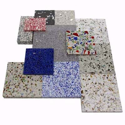 how to make terrazzo countertops