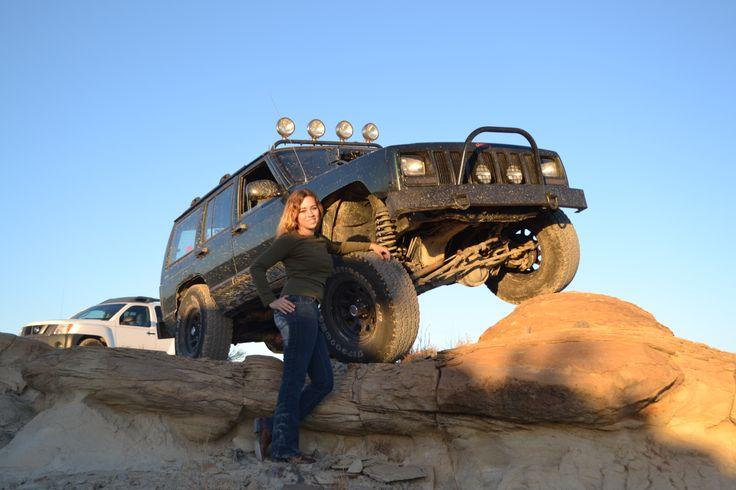 "1999 Jeep Cherokee Xj. I6 4.0 Highoutput 242. 4.5"" lift"