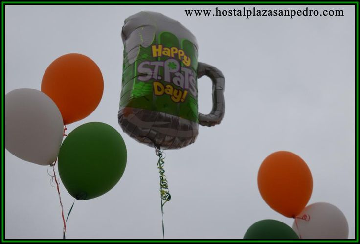 Happy St. Patricks Day from us all Hostal Plaza San Pedro. The art hostel on the Costa del Sol.