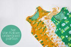 Het Van Katoen ondergoed patroon, vanaf nu gratis te downloaden. by Oon