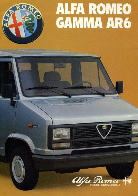 Alfa Romeo AR6 Gamma - brochure