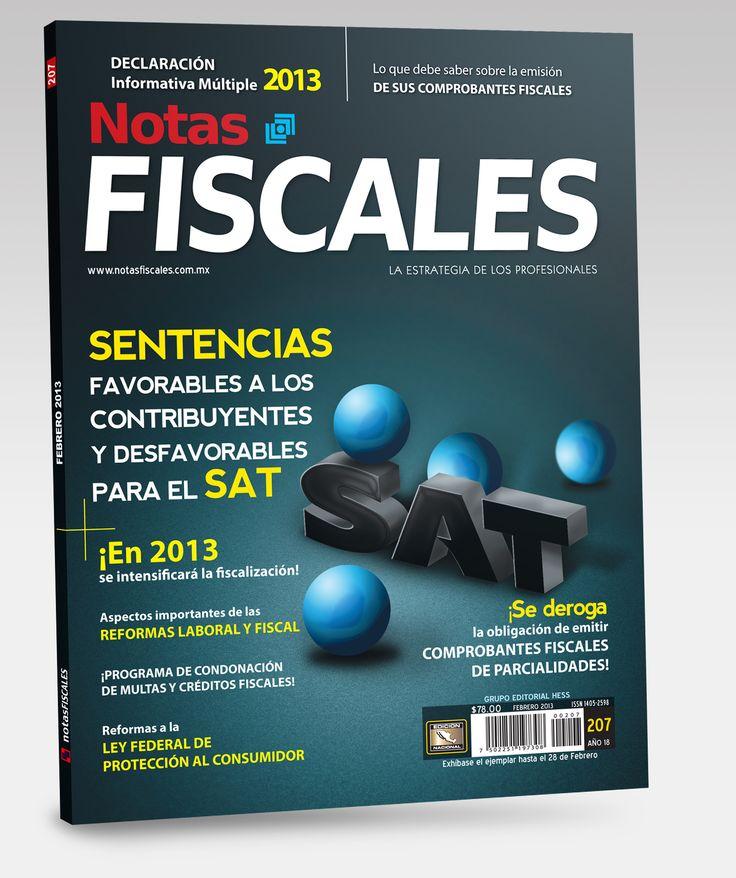 Revista Notas Fiscales #207 Febrero 2013