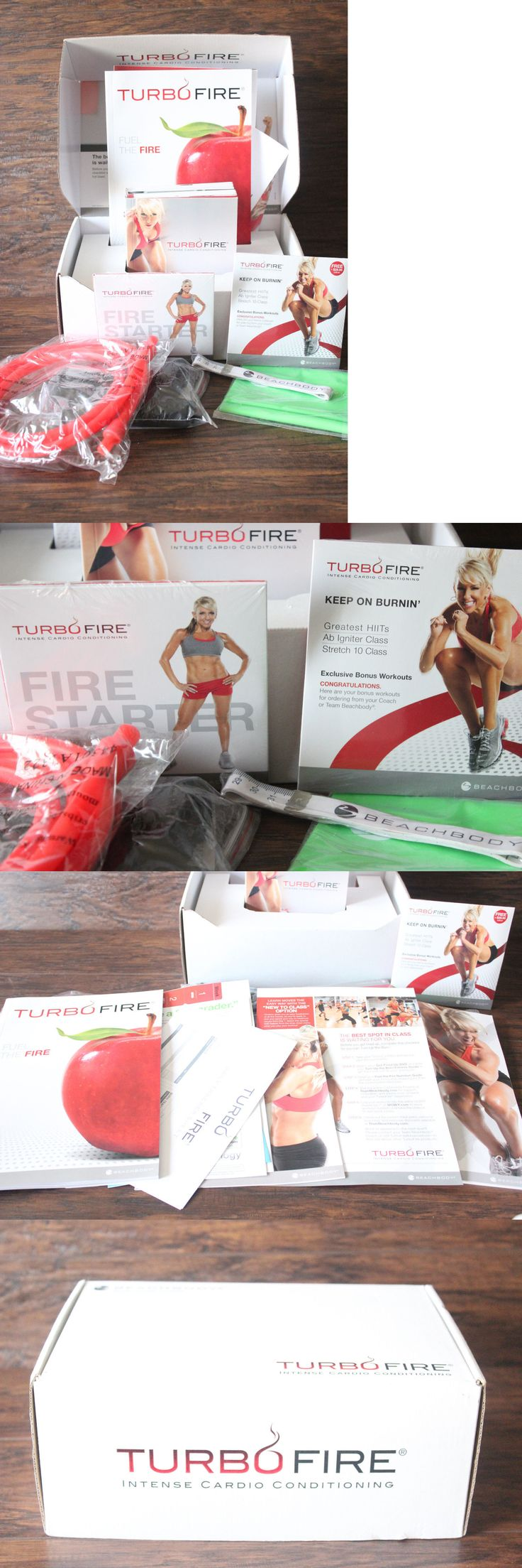 Fitness DVDs 109130: New Beachbody Turbo Fire Intense Cardio Conditioning Dvd Set + Keep On Burnin -> BUY IT NOW ONLY: $79.99 on eBay!