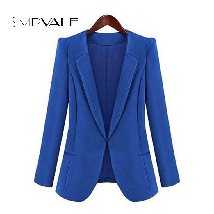 2017 New Trendy Solid Color Women Business Formal Office Thin Blazer Work Wear Casual Chiffon Draped Lady Elegant Slim Coat