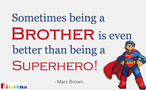 Happy National Brother's Day! ^_^ May 24